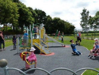 Play Area on the Recreation Ground
