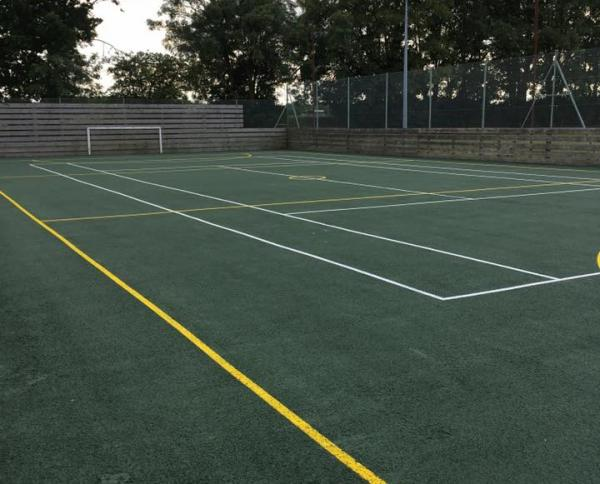 The Multi Use Games Area (MUGA)